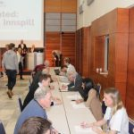 Programkomiteens medlemmer i speed-dating